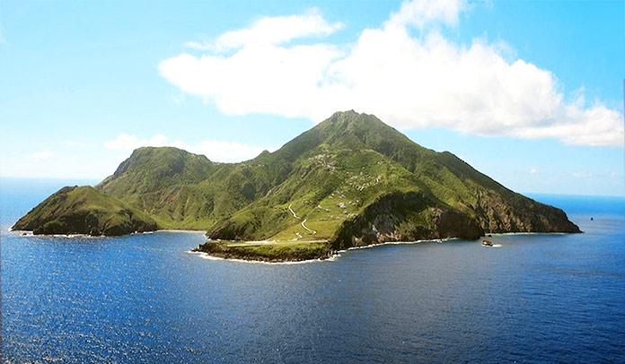 Mejores islas del Caribe - Isla de Saba