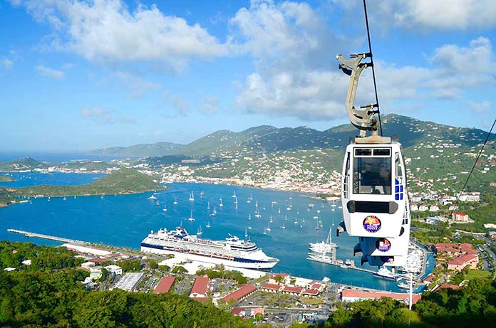 Mejores islas del Caribe - Islas Vírgenes, Estados Unidos