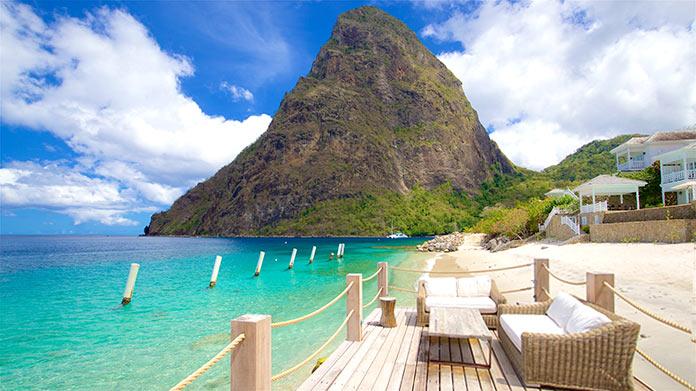 Mejores islas del Caribe - Santa Lucía, Islas de Barlovento