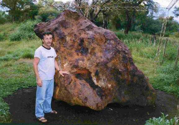 Meteoritos caídos en la Tierra: Meteorito Campo del Cielo