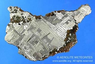 Meteoritos caídos en la Tierra: Meteorito de Seymchan