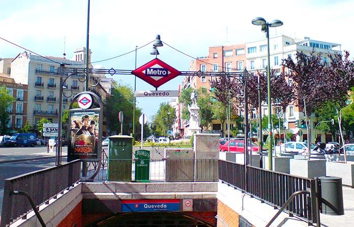 Metro literario Quevedo