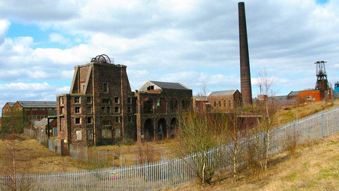 Mina de carbón de Chatterley Whitfield, Stoke-on-Trent (Inglaterra)