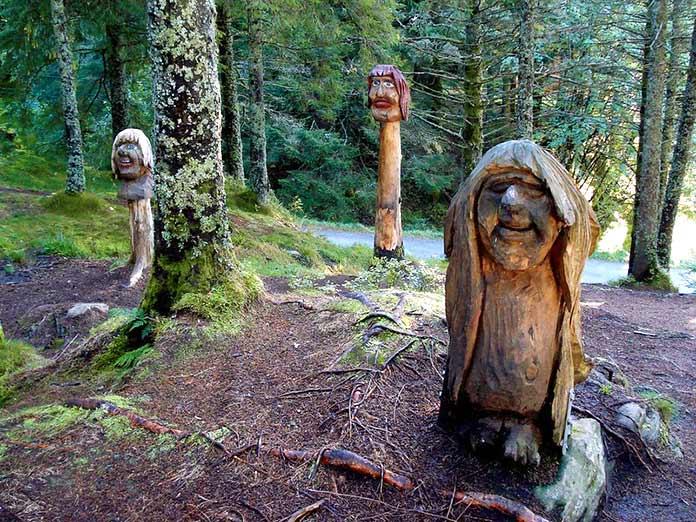 Troll Forest de Floyen, Bergen