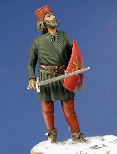 Estatuilla de un Montero de Espinosa