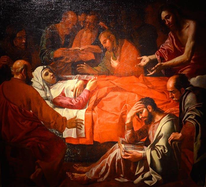 Muerte de la Virgen, de Jerónimo Jacinto Espinosa.