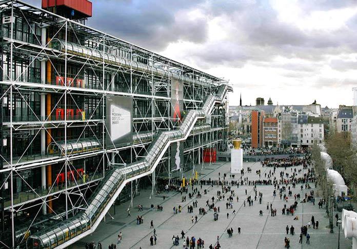 museos más famosos del mundo: Centro Pompidou