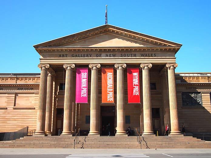 museos más famosos del mundo: Galería de Arte de Nueva Gales del Sur