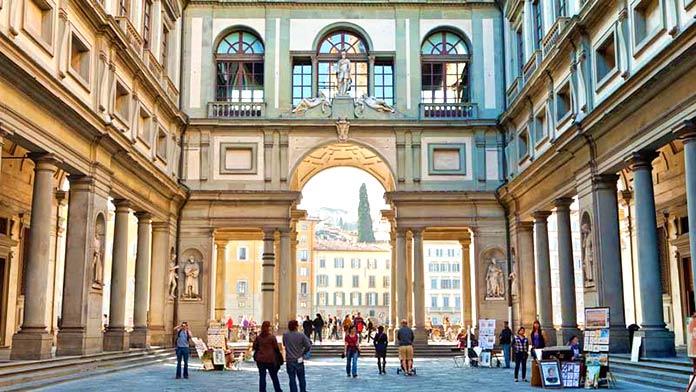 museos más importantes del mundo: Galería de los Uffizi
