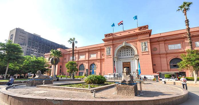 museos más importantes del mundo: Museo Egipcio de El Cairo