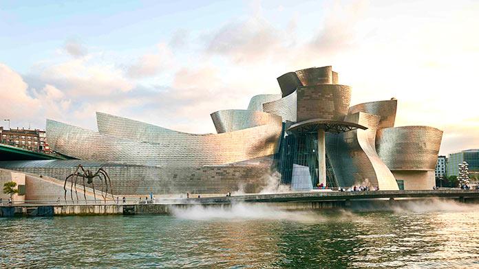museos más famosos del mundo: Museo Guggenheim Bilbao