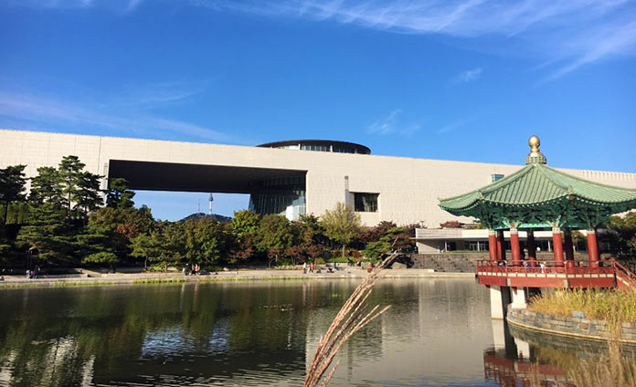 museos más famosos del mundo: Museo Nacional de Corea
