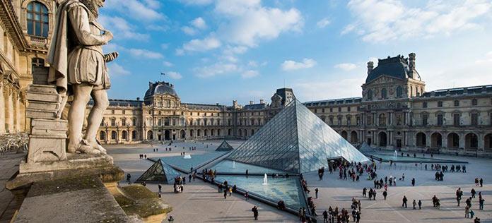 museos más famosos del mundo: Museo del Louvre