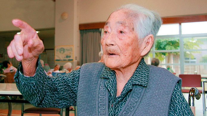 A los 117 años ha fallecido Nabi Tajima, la persona más anciana del mundo.