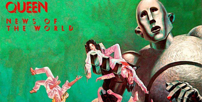 El emblemático disco News of the World de Queen ha sido reeditado.