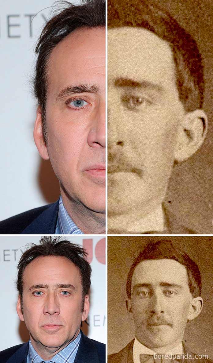 Nicolas Cage - hombre de la guerra civil americana