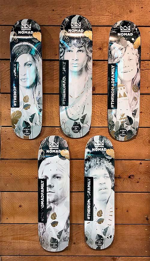 Tablas de patinar Nomad Skateboards