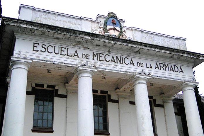 Operación Asado: Escuela Mecánica de la Armada (ESMA)