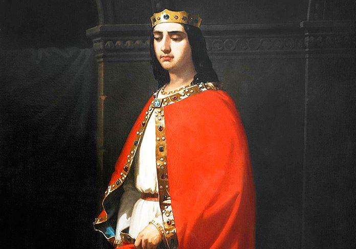 El rey Ordoño I de Asturias