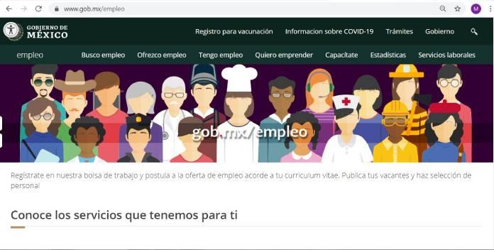 Páginas de empleo en México - Gob