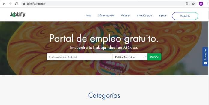 Páginas de empleo en México - Jobtify