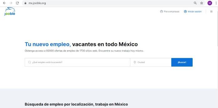 Páginas de empleo en México - Jooble