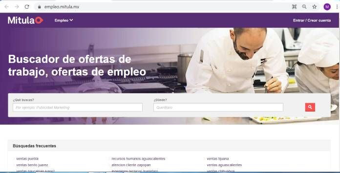 Páginas de empleo en México - Mitula