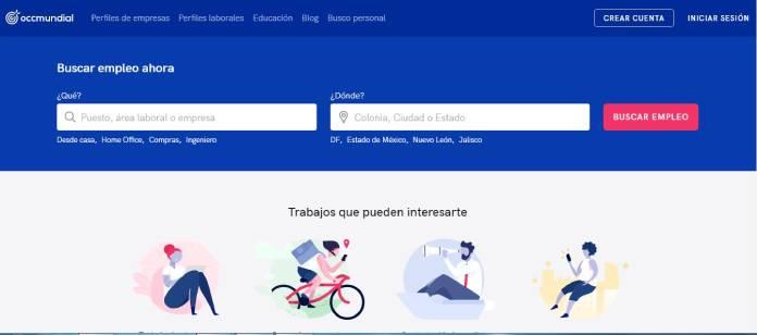 Páginas de empleo en México - Occ