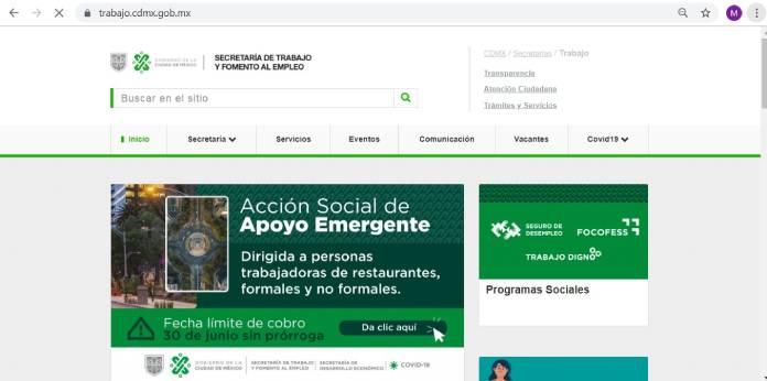 Páginas de empleo en México - Trabajo.cdmx