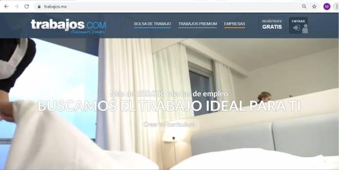 Páginas de empleo en México - Trabajos.com