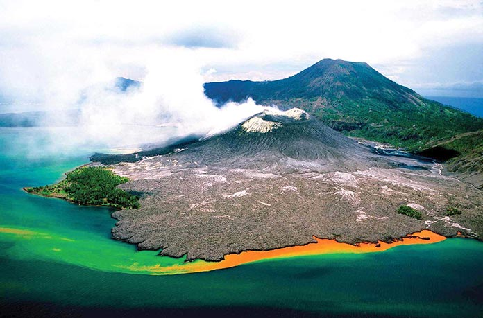 Países con clima tropical - Papua Nueva Guinea