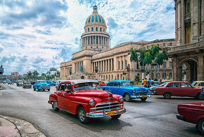 Países con clima tropical - Cuba