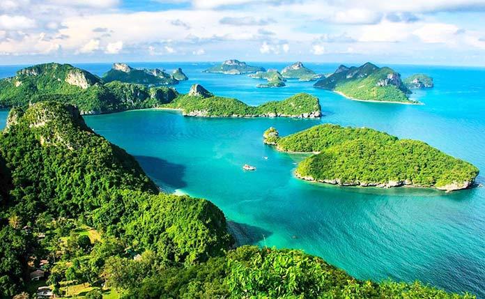 Países con clima tropical - Tailandia