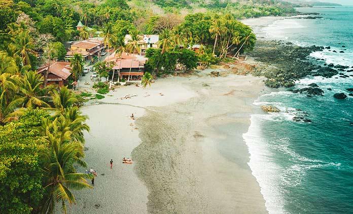 Países con clima tropical - Costa Rica