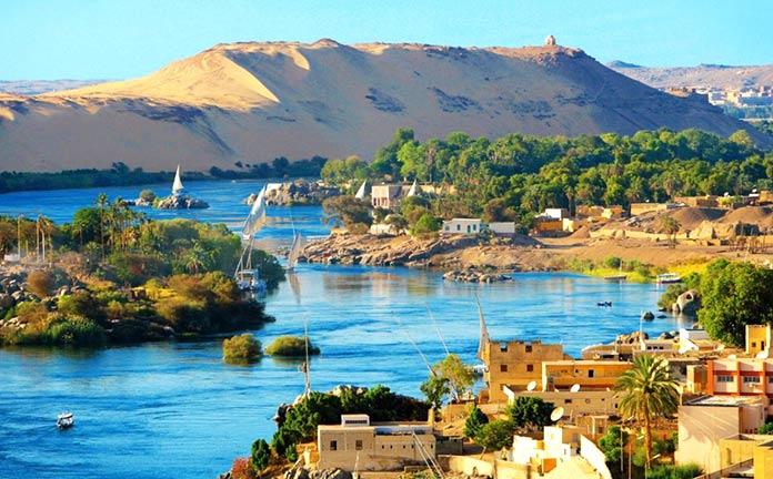 Países con clima tropical - Egipto