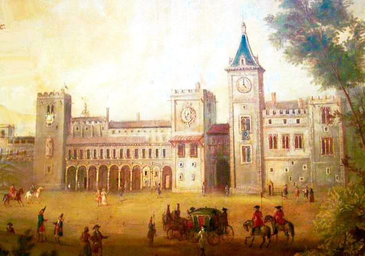 Pintura anónima del Palacio del Real de Valencia