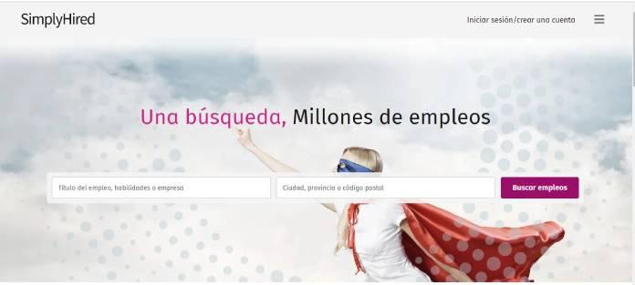 Portales de empleo en España - SimplyHired