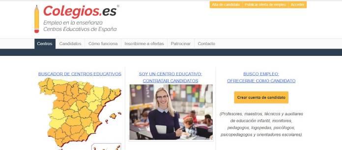 Portales de empleo en España - Colegios.es