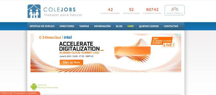 Portales de empleo en España - Colejobs