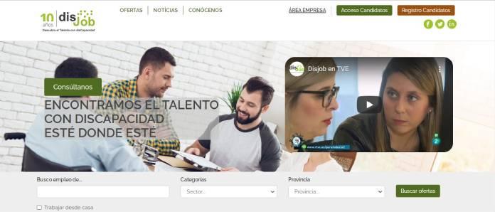 Portales de empleo en España - Disjob