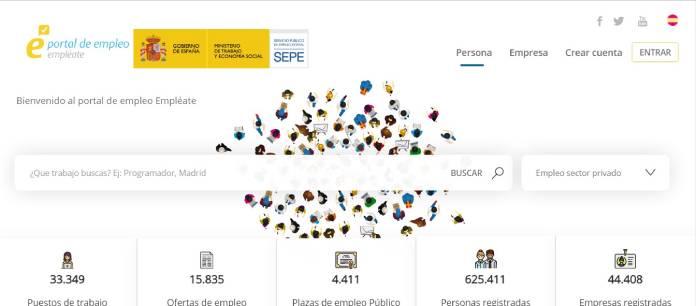 Portales de empleo en España - Empléate