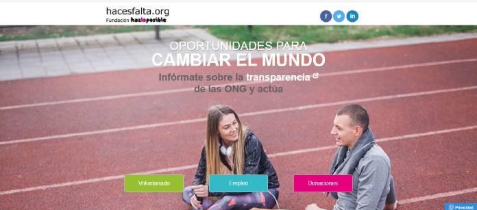 Portales de empleo en España - Hacesfalta