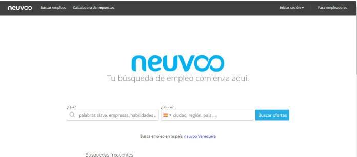 Portales de empleo en España - Neuvoo
