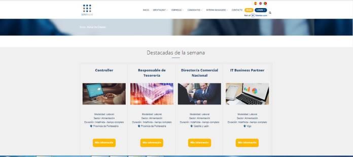 Portales de empleo en España - Servitalent