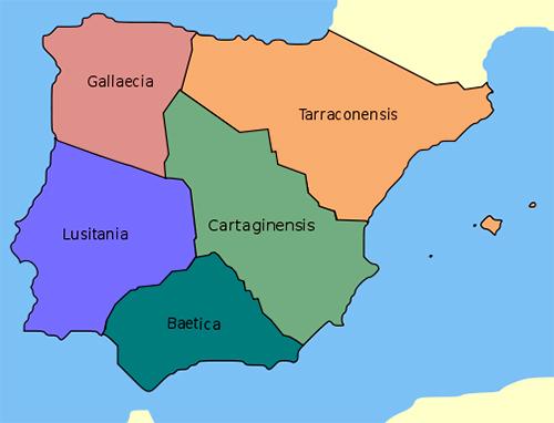 Provincias de la Hispania Romana