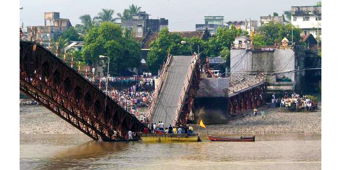 Puente de Daman, India