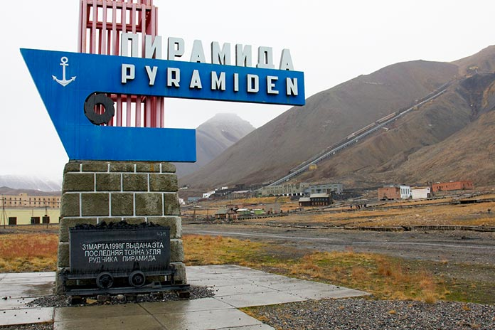 Pyramiden (Spitsbergen, Noruega)