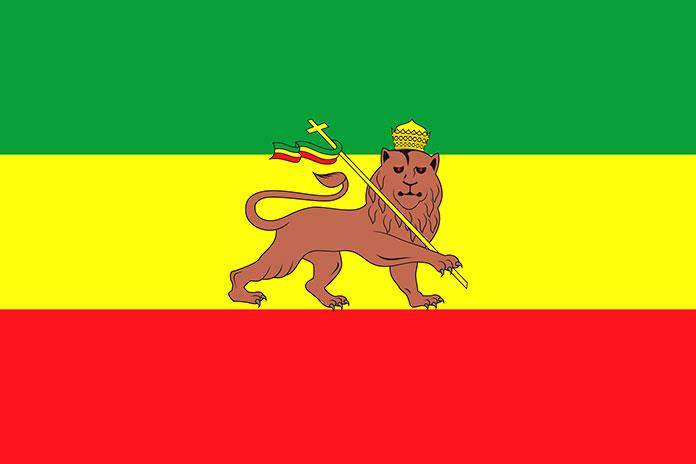 Rastafari - Bandera rastafari