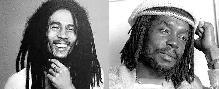 Rastafari - Bob Marley y Peter Tosh