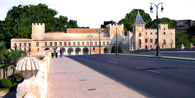 Reconstrucción virtual del Palacio Real de Valencia